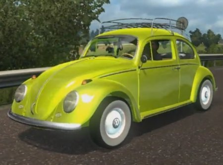 Скачать мод Volkswagen Beetle Fusca 66 BETA v.16.02.17 для Euro Truck Simul ...