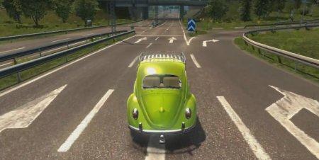 Скачать мод Volkswagen Beetle Fusca 66 BETA v.16.02.17 для Euro Truck Simulator 2 v. 1.25-1.26