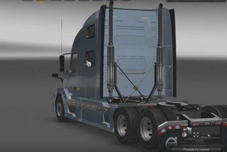 Скачать мод грузовик Volvo VNL 780 Truck Shop v.3 для Euro Truck Simulator 2 v. 1.27