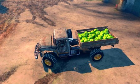 """Скачать мод грузовик ЗИЛ """"Cracker"""" для Spintires v. 03.03.16"""