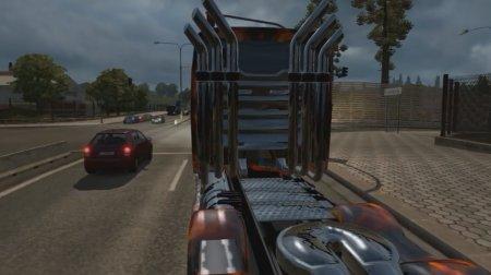 Скачать мод грузовик Western Star 5700 Optimus Prime v.1.3 для Euro Truck Simulator 2 v. 1.24-1.26