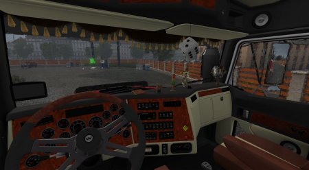 Скачать мод грузовик Western Star 4800 v.2 для Euro Truck Simulator 2 v. 1.27