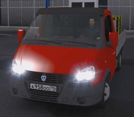 Скачать мод грузовик Газ-3302 «Reworked» v.25.07.17 для Euro Truck Simulato ...