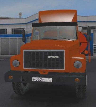 Скачать мод грузовик Газ-3307-33081 v.4 для Euro Truck Simulator 2 v. 1.27- ...