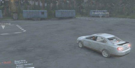 Скачать мод Volkswagen Passat для Spintires v. 03.03.16