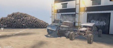 Скачать мод ПАК Zombie Hunter Truck для Spintires v. 03.03.16