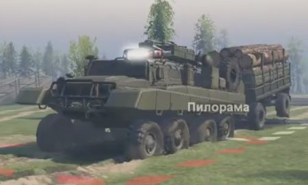 Скачать мод ТанкоГаз-80 для Spintires v. 03.03.16
