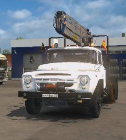 Скачать мод грузовик Зил-130/131 v.09.06.17 для Euro Truck Simulator 2 v. 1 ...
