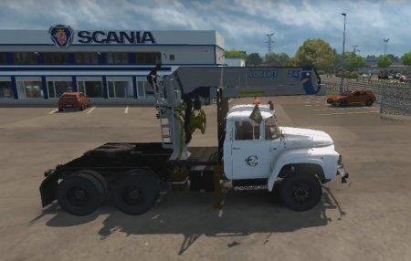 Скачать мод грузовик Зил-130/131 v.09.06.17 для Euro Truck Simulator 2 v. 1.27