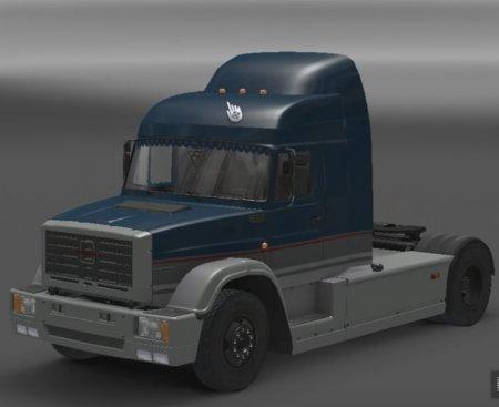 Скачать мод грузовик Зил-5423 MM3 v.11.06.17 для Euro Truck Simulator 2 v. 1.27