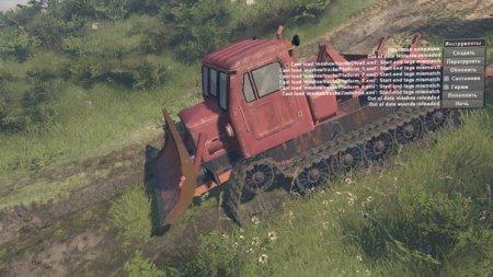 Скачать мод трактор ТТ-4 версия 17.10.17 для Spintires v. 03.03.16