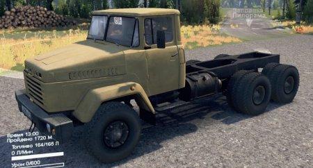 Скачать мод грузовик Краз-6510/6444 для Spintires v. 03.03.16