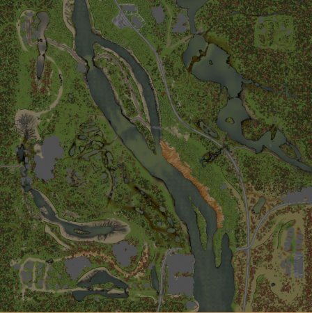 Скачать мод карта «Джем» для Spintires v. 03.03.16