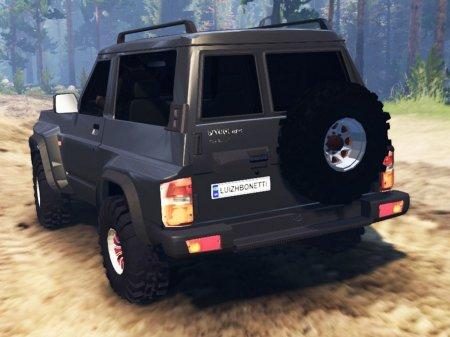 Скачать мод Nissan Patrol GR (Y60) для Spintires v. 03.03.16
