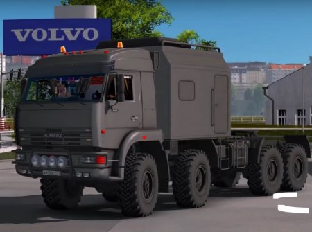 Скачать мод грузовик Камаз-43-63-65 Offroad v.13.05.17 для Euro Truck Simul ...