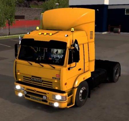 Скачать мод грузовик Камаз-5460 v.23.07.17 для Euro Truck Simulator 2 v. 1.27