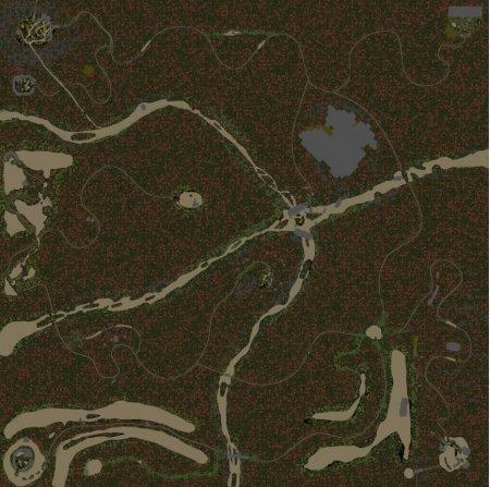 Скачать мод карта «Apokalipsis» для Spintires v. 03.03.16