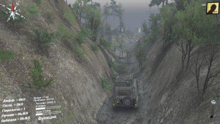 Скачать мод карта «Canyonlands» для Spintires v. 03.03.16
