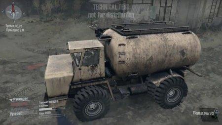 Скачать мод грузовик БелАЗ 540 версия 01.11.17 для Spintires MudRunner