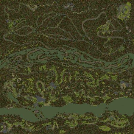 Скачать мод карта «Blackwater Canyon» для Spintires MudRunner