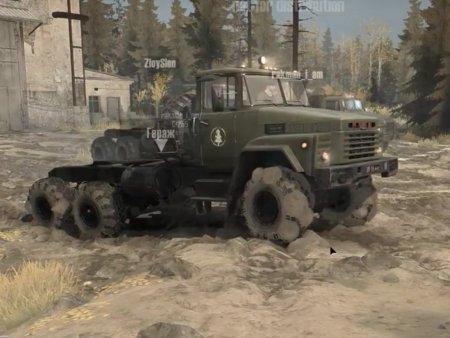 Скачать мод грузовик Краз-260 версия 1.1 для Spintires MudRunner