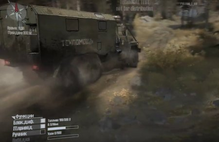Скачать мод грузовик Краз-260 для Spintires MudRunner