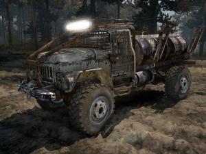 Скачать мод грузовик Зил-131 «Cracker» для Spintires MudRunner