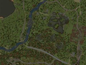 Скачать мод карта «Лесничество» для Spintires MudRunner