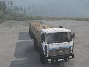 Скачать мод грузовик МАЗ-6317 6X6 версия 25.11.17 для Spintires MudRunner