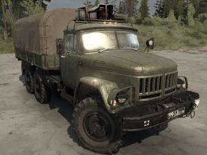 Скачать мод грузовик Зил-131 для Spintires MudRunner