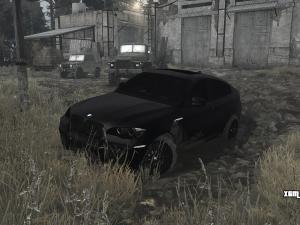 Скачать мод BMW X6M версия 23.01.18 для Spintires MudRunner