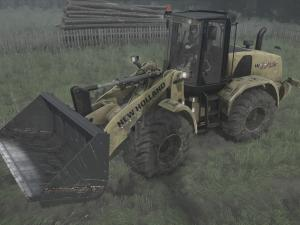 Скачать мод трактор New Holland W170C для Spintires MudRunner