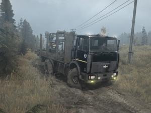 Скачать мод грузовик Маз-5434 для Spintires MudRunner