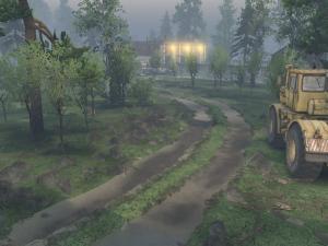 Скачать мод карта «Речка Кристальная 3» для Spintires v. 03.03.16