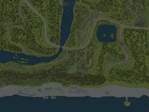 Скачать мод карта «Море» для Spintires MudRunner