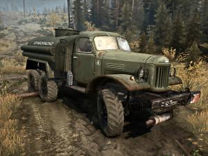 Скачать мод грузовик Зил-157 для Spintires MudRunner