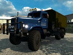Скачать мод грузовик Краз 255-260 v.3 для Euro Truck Simulator 2 v. 1.26