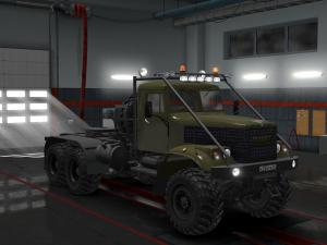 Скачать мод грузовик Краз-255 v.24.08.17 для Euro Truck Simulator 2 v. 1.28