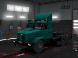 Скачать мод грузовик КрАЗ-6446/64431 v.17.09.17 для Euro Truck Simulator 2  ...