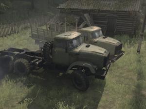 Скачать мод грузовик Зил-E133ВЯТ для Spintires MudRunner