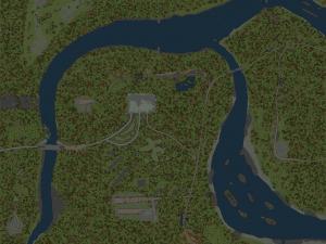 Скачать мод карта «Discesa Ripida» для Spintires MudRunner