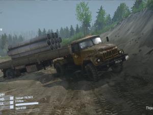 Скачать мод грузовик Зил-130 4x4 для Spintires MudRunner