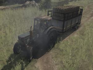 Скачать мод трактор T-40 версия 22.11.17 для Spintires MudRunner
