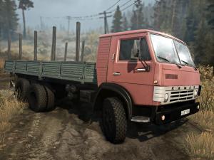 Скачать мод ПАК грузовиков Камаз версия 08.12.17 для Spintires MudRunner