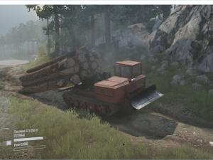 Скачать мод трактор ТДТ-55 для Spintires MudRunner