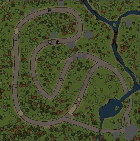 Скачать мод карта «Long» версия 1.1 для Spintires v. 03.03.16