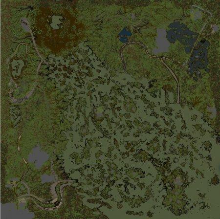 Скачать мод карта «Big Swamp» для Spintires v. 03.03.16