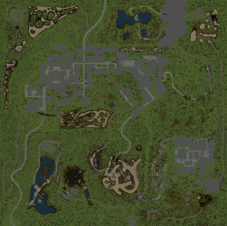 Скачать мод карта «В Запретной Зоне 3» версия 1.1 для Spintires v. 03.03.16