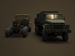 Скачать мод грузовик Краз-260/260В для Spintires MudRunner