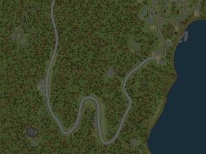 Скачать мод карта «Порт Байкал» для Spintires MudRunner